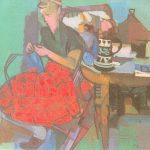 Gritili, Öl auf Leinwand, 1947, 54 x 66cm, Pivatbesitz