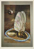 Ohne Titel (aus der Serie «Bestiarium VII»), 2014, Mischtechnik auf Papier, 30.6 x 24.6 cm