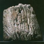 Geschnittener Stein II, 2002, Bronze