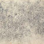 Ohne Titel, 1971 Schwarzer Buntstift auf Papier 31.8 x 47.5 cm