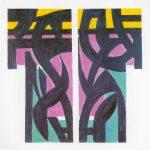 Ohne Titel, 1999 Acryl auf Leinwand, 80 x 80 cm