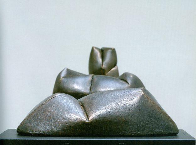 Verformung I, II, III, 2004 Bronze