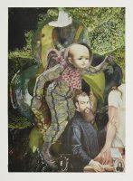 MFR_1 bis MFR_3 Ohne Titel (aus der Serie «Metamorphosen»), 2015, Mischtechnik auf Papier, 50 x 40 cm