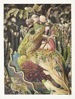 Ohne Titel (aus der Serie «Bestiarium VI»), 2014, Mischtechnik auf Papier, 50 x 40 cm