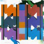 Ohne Titel, 1976 Öl auf Leinwand, 90 x 90 cm