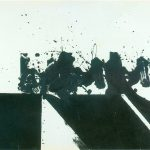 Rolling Black, 1965 Öl auf Papier, 75 x 100 cm